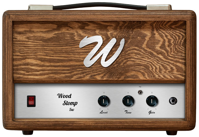 Wood amplification Wood-Stomp-5w